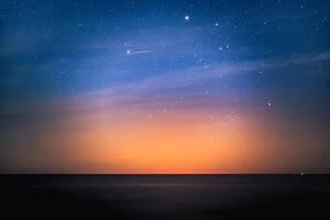 Stars Above The Dark Baltic Sea 5k