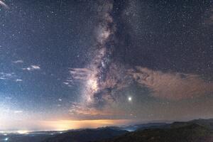 Stars In Sky 8k