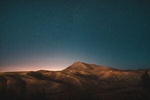 Stars Over Desert Mountains 5k