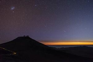 Stars Space Sunset 5k Wallpaper