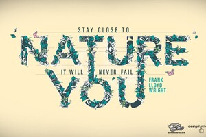 Stay Close To Nature Wallpaper