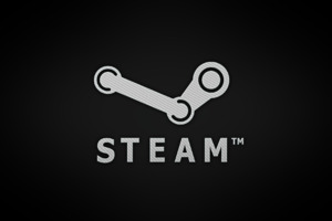 Steam Brand Logo Wallpaper