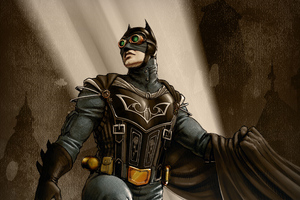 Steampunk Batman 5k