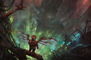 Steampunk Vigilante Wallpaper