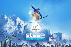 Steep Road To The Olympics Wallpaper