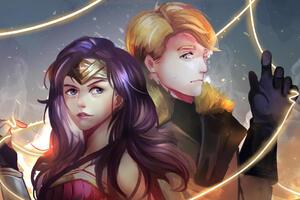 Steve Trevor Wonder Woman Wallpaper