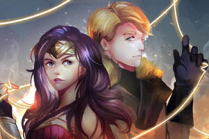 Steve Trevor Wonder Woman