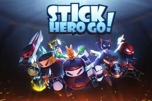 Stick Hero Go Wallpaper