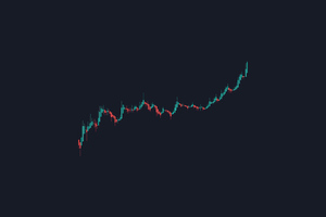 Stock Chart Minimal 4k Wallpaper