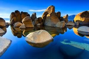 Stones Landscape Wallpaper