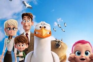 Storks Animated Movie 5k Wallpaper