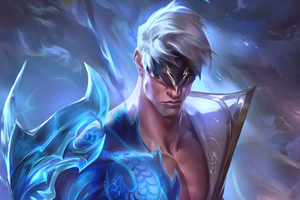 Storm Dragon Lee Sin League Of Legends 4k Wallpaper