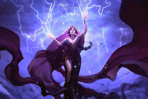 Storm Gods Oracle Magic The Gathering Card 4k Wallpaper