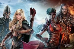 Stormfall Age Of War Warrior
