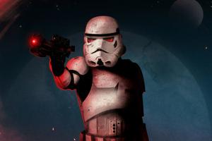 Stormtrooper Art 4k