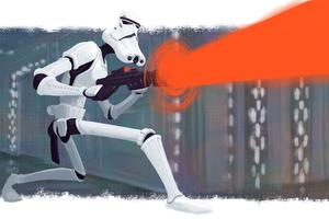 Stormtrooper Artwork 4k Wallpaper