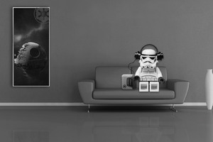 Stormtrooper Lego Star Wars Wallpaper