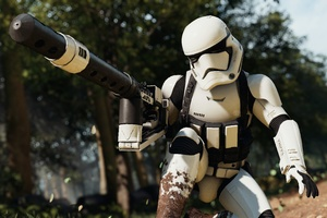 Stormtrooper Star Wars Battlefront 2 4k