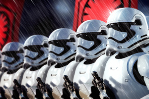 Stormtroopers 4k Art Wallpaper