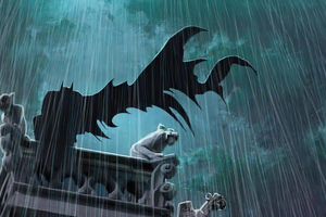 Stormy Night Batman Day 4k Wallpaper