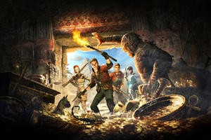 Strange Brigade 2018 Video Game 4k