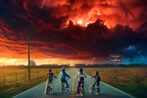 Stranger Things 5k Wallpaper