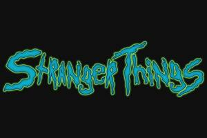Stranger Things Creative Logo 4k Wallpaper