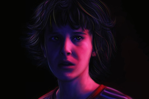 Stranger Things Eleven 4k Artwork New