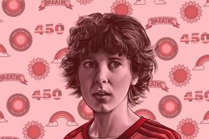 Stranger Things Eleven 5k Artwork Wallpaper