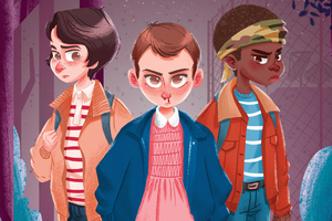 Stranger Things New Art