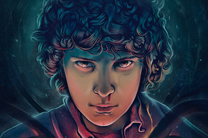 Stranger Things Season 3 2019 Eleven Art