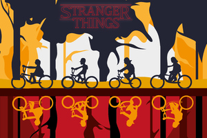 Stranger Things Season 3 Art