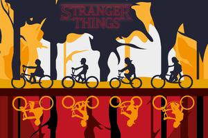 Stranger Things Season 3 Art