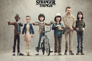 Stranger Things Season 4 Artwork