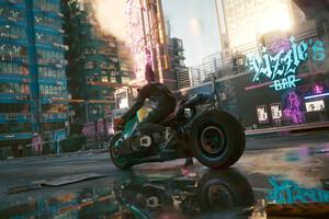 Street Biker Cyberpunk 2077