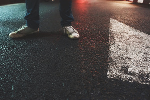Street Shoes Boy Lights Wallpaper