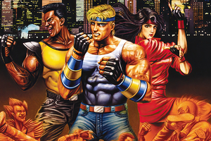 Streets Of Rage 4 Bare Knuckle Wallpaper