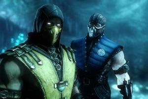 Sub Zero And Scorpion Mortal Kombat 4k