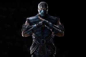 Sub Zero In Mortal Kombat 4k 2020 Wallpaper