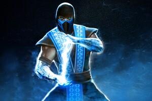 Sub Zero In Mortal Kombat 4k