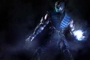Sub Zero In Mortal Kombat Wallpaper