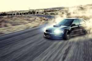 Subaru Drifting