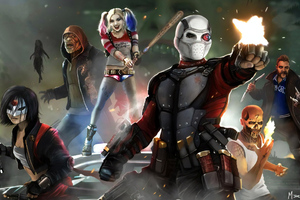 Suicide Squad Arts Wallpaper