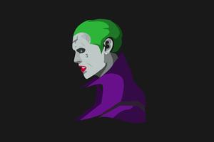 Suicide Squad Joker Minimalism