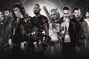 Suicide Squad New Poster Wallpaper