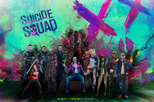 Suicide Squad Worst Superheroes Ever Wallpaper
