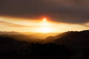 Sun Rays Over Mountains 5k Wallpaper
