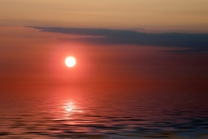 Sundown Evening Landscape Light Nature
