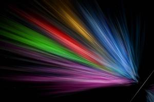 Sunlight Circle Light Color Rays Rainbow Wallpaper