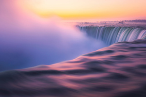 Sunrise At Niagra Falls 5k